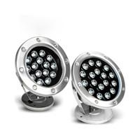 Wholesale Lamp G53 - 3W 6W 9W 12W 15W 18W 24W 36W AC85-265V Or DC12V 24V Underwater RGB Led Light Waterproof IP68 Fountain Swimming Pool Lamp Lights Color Change