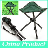 Wholesale Wholesale Party Folding Chairs - Breathable Folding Chair Portable Outdoor Beach Sunbath Picnic Barbecue Party Fishing Camping Tripod Stool Super Light