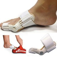 2018 Correttore Splint Hot Bunion Hallux Valgus Straightener Toe Separatore Rilievo del dolore (Colore: Bianco)