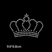 Wholesale iron transfer crown for sale - New Crown rhinestone transfer  hotfix rhinestone iron on the a60b83e84b06