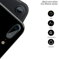 """Wholesale Film Camera Case - For Apple iPhone 7 4.7inch iPhone 7 Plus 7Plus Rear Camera Tempered Glass Back Lens Anti-Scratch Circle Guard Case Film for iphone 7 4.7"""""""