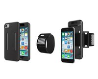 Wholesale Galaxy Cycling - Cycling Sport Armband Hybrid Impact Holster Soft Gel Case For Iphone 7 I7 6 Plus IPhone7 Samsung Galaxy S7 S7 EDGE