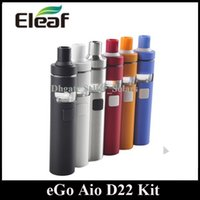 Wholesale Personal Build - Joyetech EGO AIO D22 Starter Kit 1500mah Built In Lipo Personal Vaporizer with SS316L Coil Head DHL Free
