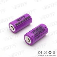 Wholesale Lithium Ion Cell 3v - 3v 1200mAh cr123a rechargeable battery lithium-ion battery cr123a 3v cell for camera and led flashlights