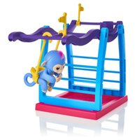Wholesale Wholesale Baby Swings - Resale Monkey Jungle Gym Playset Interactive Baby Monkey Climbing Stand