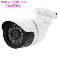 Wholesale Ccd 24 Ir - 700TVL Sony CCD Outdoor Weatherproof Security Cameras 24 IR LED