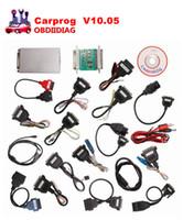 Wholesale Carprog Nissan - Carprog V10.05 Carprog Full Set (With All 21 Items Adapters) Professional Comprehensive Auto repair scan tool Replace of V9.31 Version