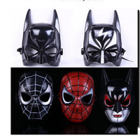 Wholesale Maschera Halloween - 2016 New Batman Masks ballo in maschera Halloween Makeup Dance Mask Boys Toys