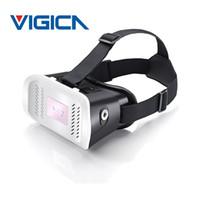"Wholesale Hd Gear - 100% Top Quality VR MV100 3D Glasses Google Cardboard HD Head Mount DK2 Gear Magnet for 3.5""-6"" Phone PK VR Shinecon VR BOX 3.0"