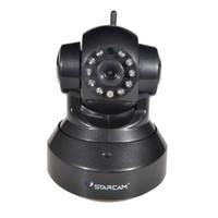 Wholesale Security Camera Wireless Mega Pixel - VSTARCAM C7837WIP HD 720P 1.0 Mega Pixel Home Office Security CCTV Night Vision WiFi IP Camera ID Plug (Black)