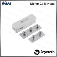 Wholesale joyetech qcs coil resale online - 100 Original Joyetech Ultimo Coils Head MG Clapton ohm MG Ceramic ohm MG QCS ohm Coil Heads For Ultimo Atomizer