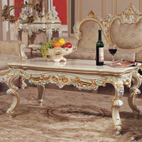 Wholesale solid wood table resale online - classic style furniture solid wood table living room furniture