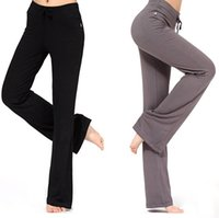 traje para el baile hip hop al por mayor-Al por mayor-2016 Nuevas Mujeres Pantalones Harem Casual de cintura alta Pantalones Deportivos de Hip Hop Trajes de Danza Pantalones de Yoga de Formación más el tamaño
