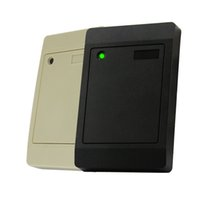 Wholesale Access Control Mifare - RFID Door Access Control Reader 125MHz Touch Sensor Card ID Reader Support Mifare F1108 EM4200 TK4100 Card Type