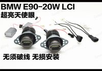 12V blue angels models - 2pcs W W Led Halo Bulbs K White Light Angel Eye For BMW E90 E91 LCI Halogen Headlight Models