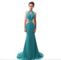 La nuova moda stupefacente del vestito da sera del vestito da sera del vestito  dal Halter di disegno di modo veste l abito attraente su ordine che spedice  ... 11183c9a2ce