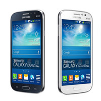 Wholesale Dual Core Gsm - Original Samsung GALAXY Grand Neo Plus I9060i 5 inch Quad Core 1.2Ghz 1GB 8GB Dual Sim 5MP 2MP Camera GSM 3G Refurbished phone