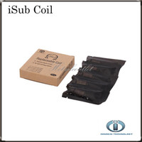 Wholesale ti coil - Innokin iTaste iSub Coils iSub Ti Coil ohm ohm ohm ohm iSub SS BVC Replacement Coils For iSub Tanks Original in Stock