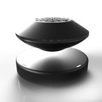 caja de amplificador de audio al por mayor-2019 nuevo Bluetooth 4.0 5D supergravedad levitación magnética ideas de regalo de alta gama Altavoz Bluetooth stock preferido