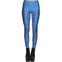aa2cccc080 Pantaloni nebulosa blu Star cloud tight Abbigliamento da palestra per donna  Leggings abbigliamento sportivo Fitness training sportwear Pantaloni da ...