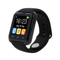 Wholesale Bluetooth u80 Smart Watch android MTK smartwatchs for Samsung S4 Note Note3 HTC xiaomi for Android Phone PK U8 GT08 DZ09