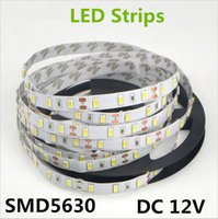 5M / Roll Bianco / Bianco caldo 300 LED Strip Light String Nastro 5630 SMD Lampada Nastro più luminoso di 2835 3528 5050 per decorativo