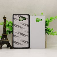 Wholesale white fitted sheets resale online - for Samsung Galaxy S7 edge s9 s9 plus S8 S8 PLUS A8 A8 PLUS Rubber TPU DIY sublimation case with aluminium metal sheet Glue P