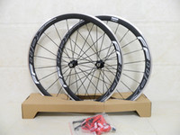 Wholesale G3 Carbon Hub - Carbon wheelset! FFWD F4R 38mm carbon clincher 3k glossy wheelset with powerway R13 or R36 hubs G3 hubs