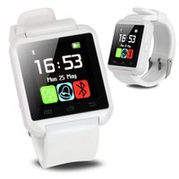 Wholesale Electronic Multifunctional Sports - Pebble Smartwatch U8 Smartwatches Bluetooth WristWatch Digital Sport Watch For IOS Android Samsung Phone Wearable Electronic Device