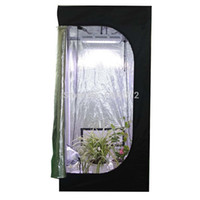 Wholesale growing room - 80*80*160(31.5*31.5*62'')indoor Hydroponics Grow Tent Greenhouse Reflective Mylar Non Toxic Room With Free Shipping