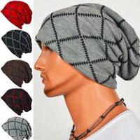 Wholesale Cashmere Hat Sale Women - Brand Hot Sale Winter Unisex Knitted Hats Warm Men Beanies Outdoor Ski Sports Warm Ear Cover Cap Hip-hop Snap Slouch Bonnet