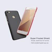 Wholesale Screen Protector Black - Phone cover for XIAOMI RedMi note 5A note 5A (prime) Ultra NILLKIN Super Frosted Shield matte hard back cover with free screen protector