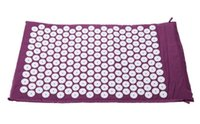 Wholesale Gym Exercise Mats - Yoga Mat Workout Exercise Gym Fitness Relief Stress Pain Acupuncture Spike Yoga Mat Massager Improve Blood Circulation Reduce Muscle Tension