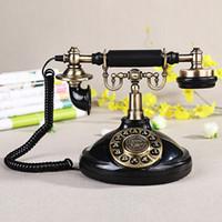Wholesale Old Style Telephones - Vintage Antique Style Old Fashioned Retro Old Telephone antique 1920s telephone