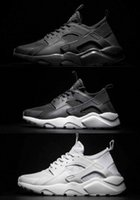 Wholesale Breathe Design - New Design Air Huarache 2 Ultra Breathe All White Mesh Shoes Men And Women's Huaraches Running Sneakers Size 36-46