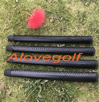 Compra Impugnature Di Golf In Pelle-Manopole da golf di qualità OEM impugnature da golf in vera pelle nera gripter colori 10pcs / lot