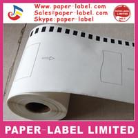Wholesale Dk Rolls - Wholesale-34X ROLLS Brother Compatible Labels Paper Labels Thermal labels 102mmx30.48m Continuous dk 22243 DK-22243 DK22243 DK-2243 DK243