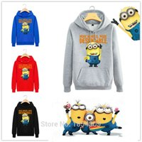 Pullover sport coat corduroy - Hot New Man Cool Causal Long Sleeves Minions Hoodies Whiting Cartoon Minions Sweatshirts Cute Funny Shirt Coat Leece Streetwear Sport School