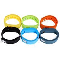 смарт-браслет tw64 bluetooth оптовых-FITBIT TW64 смарт-браслет Bluetooth часы браслет Фитнес-трекер активности 4.0 водонепроницаемый универсальный Smartband Спорт группа
