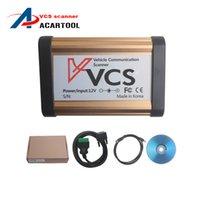 Wholesale Vcs Vehicle Communication Scanner Language - 2016 VCS Vehicle Communication Scanner support Multi-languages VCS no Bluetooth vcs diagnostic