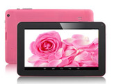 9 pouces Allwinner A33 Quad Core double appareil photo Tablet PC Android 4.2 5 points écran capacitif 1.5G 512M 8GB Free DHL