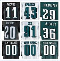 Wholesale Eagle Ice - american football jerseys Alshon Jeffery Fletcher Cox Malcolm Jenkins Zach Ertz color rush Philadelphia Carson Wentz Eagles jersey cheap xxx