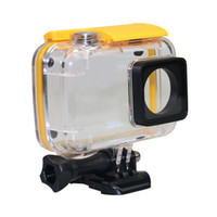 Wholesale underwater head camera for sale - 45M Underwater Waterproof Housing Case for Xiaoyi K Sports Camera Waterproof Protect Shell For Xiaoyi Action Camera