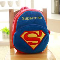Wholesale Minions Stuff For Kids - 29*19*9cm High quality Minions Plush Backpacks boy's stuffed plush schoolbag For Kids Shoulders Bag Baby