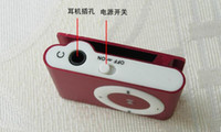 Wholesale Tf Card Buy - just buy 2pcs mp3 Players Come with Earphone USB Cable, Retail Box, Support Micro SD TF Card