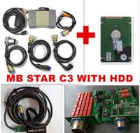 Wholesale Star C3 Tester - 2015 Latest high Quality MB Diagnostic Multiplexer Tester MB Star C3 full set with all cables + Software with internal HDD