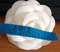 Wholesale The European and American fashion high quality decorate manual white camellia box with flowers