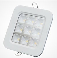 Wholesale Price Square Down Light - Factory Wholesale Price square 9*1W recessed Led Grille Led ceiling light Led down light Led lattice light,size:150mm*150mm