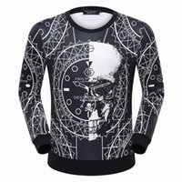 Wholesale Long Sleeve T Shirt Wool - 2016 men's Winter PP T-shirt fashion men's hoodies men 100%cotton brand clothing casual Sweaters Robin leather jacket men's Sweatshirt#7031