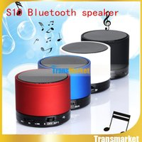 Wholesale M Audio Subwoofer - mini Bluetooth Speaker S10 Wireless stereo hi-fi speakers For iPhone Samsung PC out door hifi subwoofer w TF FM RadioBluetooth Speaker S10 M